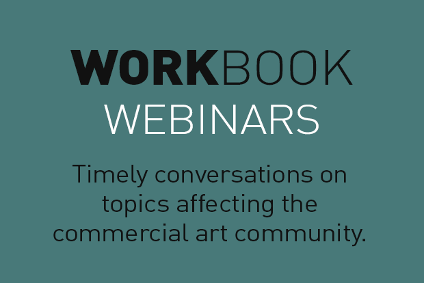 Timely conversations on topics affecting the commercial art community.